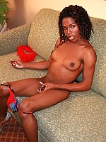 Kamora is a hot 24 yr old black tgirl from Atlanta with a huge, thick cock.
