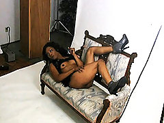 Chocolate tgirl Luxury behind the scenes