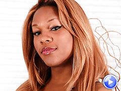 Hot curvy black tgirl from Detroit